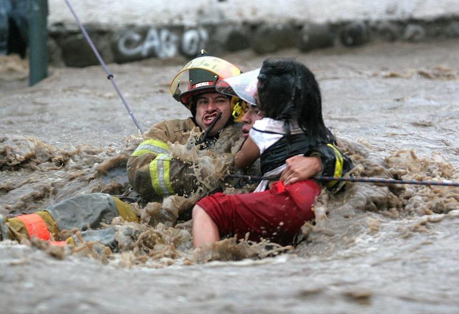 Emergencia invernal en Perú. Foto: Agencia EFE