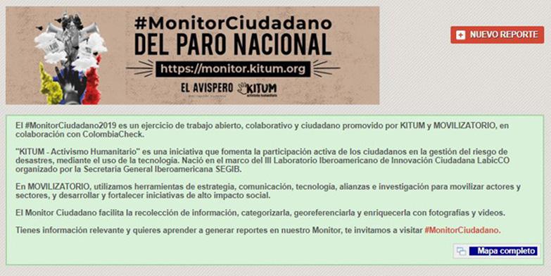 (Español) Guía de creación de Reportes en el #MonitorCiudadano2019