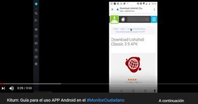 (Español) Creación de Reportes en el #MonitorCiudadano2019 a través de la App #Ushahidi para Android